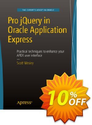 Pro jQuery in Oracle Application Express (Wesley) 프로모션 코드 Pro jQuery in Oracle Application Express (Wesley) Deal 프로모션: Pro jQuery in Oracle Application Express (Wesley) Exclusive Easter Sale offer for iVoicesoft