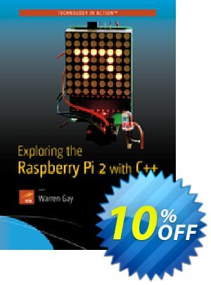 Exploring the Raspberry Pi 2 with C++ (Gay) discount coupon Exploring the Raspberry Pi 2 with C++ (Gay) Deal - Exploring the Raspberry Pi 2 with C++ (Gay) Exclusive Easter Sale offer for iVoicesoft