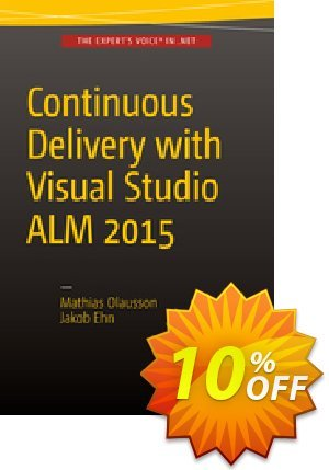 Continuous Delivery with Visual Studio ALM  2015 (Olausson) discount coupon Continuous Delivery with Visual Studio ALM  2015 (Olausson) Deal - Continuous Delivery with Visual Studio ALM  2015 (Olausson) Exclusive Easter Sale offer for iVoicesoft