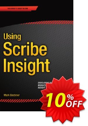 Using Scribe Insight (Beckner)割引コード・Using Scribe Insight (Beckner) Deal キャンペーン:Using Scribe Insight (Beckner) Exclusive Easter Sale offer for iVoicesoft