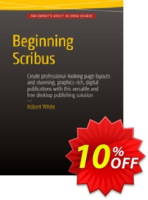 Beginning Scribus (White) discount coupon Beginning Scribus (White) Deal - Beginning Scribus (White) Exclusive Easter Sale offer for iVoicesoft