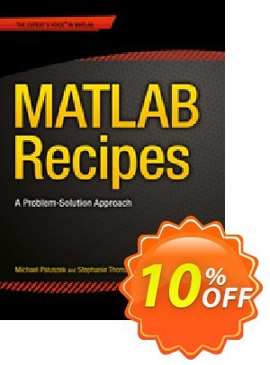 MATLAB Recipes (Paluszek) discount coupon MATLAB Recipes (Paluszek) Deal - MATLAB Recipes (Paluszek) Exclusive Easter Sale offer for iVoicesoft