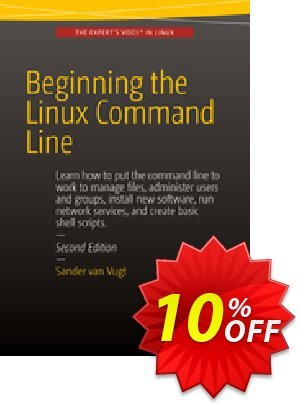 Beginning the Linux Command Line (van Vugt) 프로모션 코드 Beginning the Linux Command Line (van Vugt) Deal 프로모션: Beginning the Linux Command Line (van Vugt) Exclusive Easter Sale offer for iVoicesoft