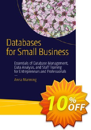 Databases for Small Business (Manning) Coupon discount Databases for Small Business (Manning) Deal. Promotion: Databases for Small Business (Manning) Exclusive Easter Sale offer for iVoicesoft