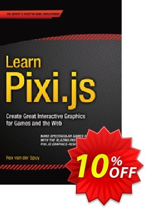 Learn Pixi.js (van der Spuy) discount coupon Learn Pixi.js (van der Spuy) Deal - Learn Pixi.js (van der Spuy) Exclusive Easter Sale offer for iVoicesoft