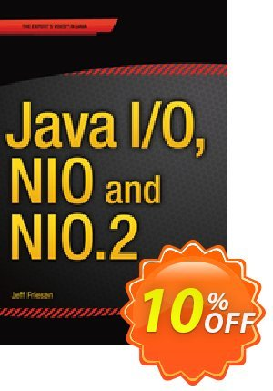 Java I/O, NIO and NIO.2 (Friesen) discount coupon Java I/O, NIO and NIO.2 (Friesen) Deal - Java I/O, NIO and NIO.2 (Friesen) Exclusive Easter Sale offer for iVoicesoft