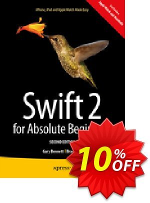 Swift 2 for Absolute Beginners (Bennett) Coupon discount Swift 2 for Absolute Beginners (Bennett) Deal. Promotion: Swift 2 for Absolute Beginners (Bennett) Exclusive Easter Sale offer for iVoicesoft