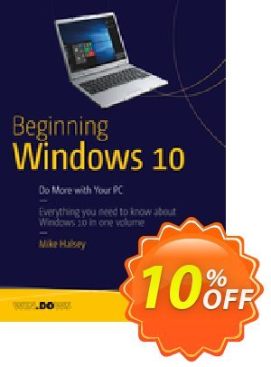 Beginning Windows 10 (Halsey) discount coupon Beginning Windows 10 (Halsey) Deal - Beginning Windows 10 (Halsey) Exclusive Easter Sale offer for iVoicesoft