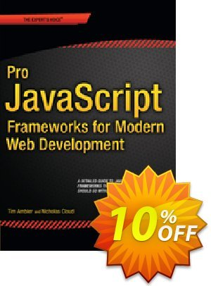 JavaScript Frameworks for Modern Web Dev (Ambler)昇進 JavaScript Frameworks for Modern Web Dev (Ambler) Deal
