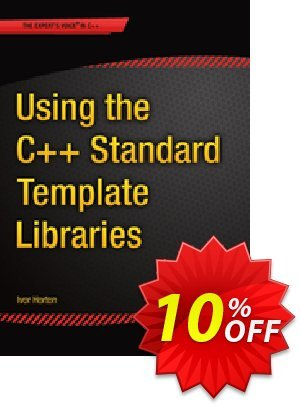 Using the C++ Standard Template Libraries (Horton) discount coupon Using the C++ Standard Template Libraries (Horton) Deal - Using the C++ Standard Template Libraries (Horton) Exclusive Easter Sale offer for iVoicesoft