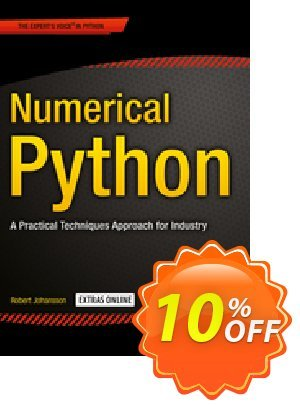 Numerical Python (Johansson) discount coupon Numerical Python (Johansson) Deal - Numerical Python (Johansson) Exclusive Easter Sale offer for iVoicesoft