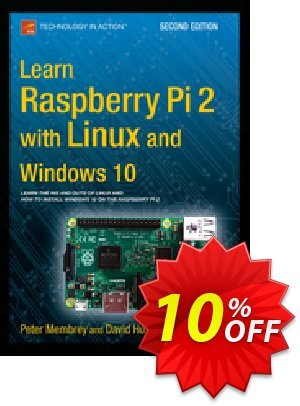 Learn Raspberry Pi 2 with Linux and Windows 10 (Membrey) discount coupon Learn Raspberry Pi 2 with Linux and Windows 10 (Membrey) Deal - Learn Raspberry Pi 2 with Linux and Windows 10 (Membrey) Exclusive Easter Sale offer for iVoicesoft