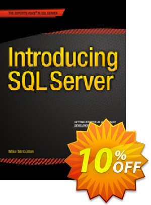 Introducing SQL Server (McQuillan) 프로모션 코드 Introducing SQL Server (McQuillan) Deal 프로모션: Introducing SQL Server (McQuillan) Exclusive Easter Sale offer for iVoicesoft