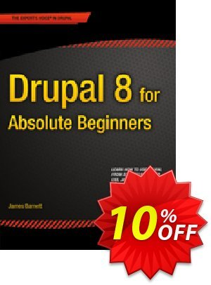 Drupal 8 for Absolute Beginners (Barnett) discount coupon Drupal 8 for Absolute Beginners (Barnett) Deal - Drupal 8 for Absolute Beginners (Barnett) Exclusive Easter Sale offer for iVoicesoft