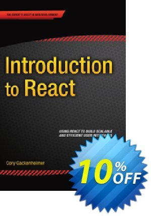 Introduction to React (Gackenheimer) discount coupon Introduction to React (Gackenheimer) Deal - Introduction to React (Gackenheimer) Exclusive Easter Sale offer for iVoicesoft