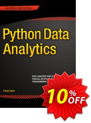 Python Data Analytics (Nelli) discount coupon Python Data Analytics (Nelli) Deal - Python Data Analytics (Nelli) Exclusive Easter Sale offer for iVoicesoft