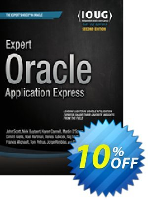 Expert Oracle Application Express (Gault) discount coupon Expert Oracle Application Express (Gault) Deal - Expert Oracle Application Express (Gault) Exclusive Easter Sale offer for iVoicesoft