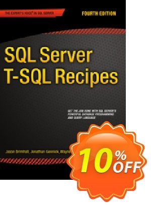 SQL Server T-SQL Recipes (Dye) discount coupon SQL Server T-SQL Recipes (Dye) Deal - SQL Server T-SQL Recipes (Dye) Exclusive Easter Sale offer for iVoicesoft