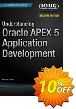 Understanding Oracle APEX 5 Application Development (Sciore) Coupon discount Understanding Oracle APEX 5 Application Development (Sciore) Deal. Promotion: Understanding Oracle APEX 5 Application Development (Sciore) Exclusive Easter Sale offer for iVoicesoft