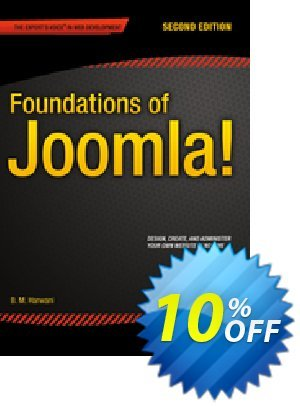 Foundations of Joomla! (Harwani) discount coupon Foundations of Joomla! (Harwani) Deal - Foundations of Joomla! (Harwani) Exclusive Easter Sale offer for iVoicesoft