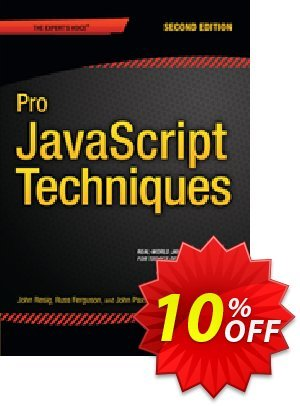 Pro JavaScript Techniques (Paxton) discount coupon Pro JavaScript Techniques (Paxton) Deal - Pro JavaScript Techniques (Paxton) Exclusive Easter Sale offer for iVoicesoft