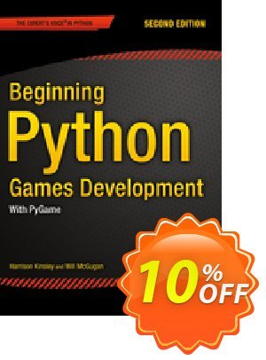 Beginning Python Games Development, Second Edition (McGugan) discount coupon Beginning Python Games Development, Second Edition (McGugan) Deal - Beginning Python Games Development, Second Edition (McGugan) Exclusive Easter Sale offer for iVoicesoft
