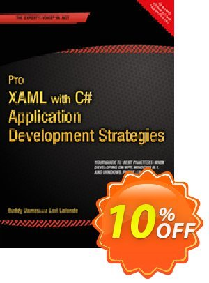 Pro XAML with C# (James) discount coupon Pro XAML with C# (James) Deal - Pro XAML with C# (James) Exclusive Easter Sale offer for iVoicesoft
