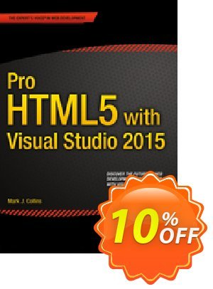 Pro HTML5 with Visual Studio 2015 (Collins) discount coupon Pro HTML5 with Visual Studio 2015 (Collins) Deal - Pro HTML5 with Visual Studio 2015 (Collins) Exclusive Easter Sale offer for iVoicesoft