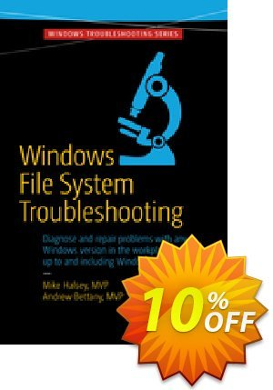 Windows File System Troubleshooting (Bettany) Coupon discount Windows File System Troubleshooting (Bettany) Deal. Promotion: Windows File System Troubleshooting (Bettany) Exclusive Easter Sale offer for iVoicesoft