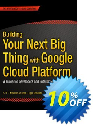 Building Your Next Big Thing with Google Cloud Platform (Ugia Gonzalez) 프로모션 코드 Building Your Next Big Thing with Google Cloud Platform (Ugia Gonzalez) Deal 프로모션: Building Your Next Big Thing with Google Cloud Platform (Ugia Gonzalez) Exclusive Easter Sale offer for iVoicesoft