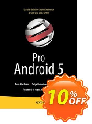 Pro Android 5 (MacLean) Coupon discount Pro Android 5 (MacLean) Deal. Promotion: Pro Android 5 (MacLean) Exclusive Easter Sale offer for iVoicesoft