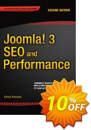 Joomla! 3 SEO and Performance (Kloostra) discount coupon Joomla! 3 SEO and Performance (Kloostra) Deal - Joomla! 3 SEO and Performance (Kloostra) Exclusive Easter Sale offer for iVoicesoft