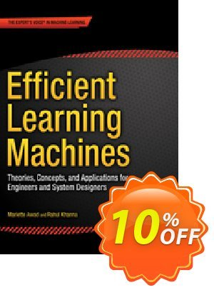Efficient Learning Machines (Awad) discount coupon Efficient Learning Machines (Awad) Deal - Efficient Learning Machines (Awad) Exclusive Easter Sale offer for iVoicesoft