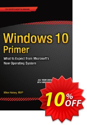 Windows 10 Primer (Halsey) discount coupon Windows 10 Primer (Halsey) Deal - Windows 10 Primer (Halsey) Exclusive Easter Sale offer for iVoicesoft