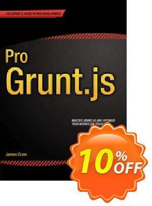 Pro Grunt.js (Cryer) discount coupon Pro Grunt.js (Cryer) Deal - Pro Grunt.js (Cryer) Exclusive Easter Sale offer for iVoicesoft