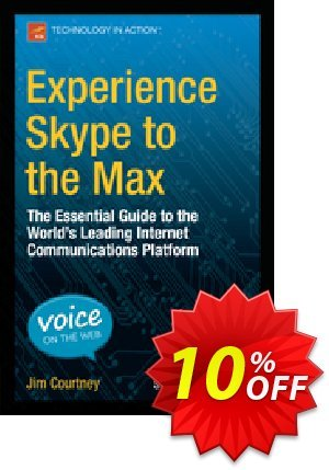 Experience Skype to the Max (Courtney) Coupon discount Experience Skype to the Max (Courtney) Deal. Promotion: Experience Skype to the Max (Courtney) Exclusive Easter Sale offer for iVoicesoft