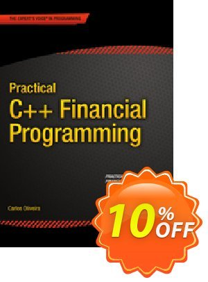 Practical C++ Financial Programming (Oliveira) discount coupon Practical C++ Financial Programming (Oliveira) Deal - Practical C++ Financial Programming (Oliveira) Exclusive Easter Sale offer for iVoicesoft