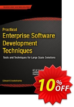 Practical Enterprise Software Development Techniques (Crookshanks) discount coupon Practical Enterprise Software Development Techniques (Crookshanks) Deal - Practical Enterprise Software Development Techniques (Crookshanks) Exclusive Easter Sale offer for iVoicesoft