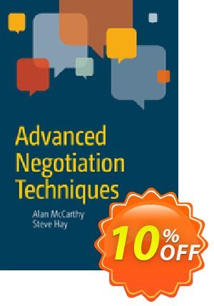 Advanced Negotiation Techniques (Hay) discount coupon Advanced Negotiation Techniques (Hay) Deal - Advanced Negotiation Techniques (Hay) Exclusive Easter Sale offer for iVoicesoft