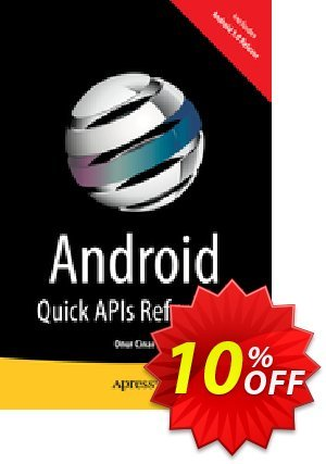 Android Quick APIs Reference (Cinar) discount coupon Android Quick APIs Reference (Cinar) Deal - Android Quick APIs Reference (Cinar) Exclusive Easter Sale offer for iVoicesoft