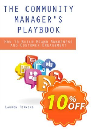 The Community Manager's Playbook (Perkins) discount coupon The Community Manager's Playbook (Perkins) Deal - The Community Manager's Playbook (Perkins) Exclusive Easter Sale offer for iVoicesoft