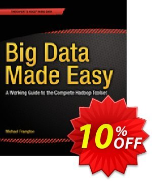 Big Data Made Easy (Frampton) discount coupon Big Data Made Easy (Frampton) Deal - Big Data Made Easy (Frampton) Exclusive Easter Sale offer for iVoicesoft