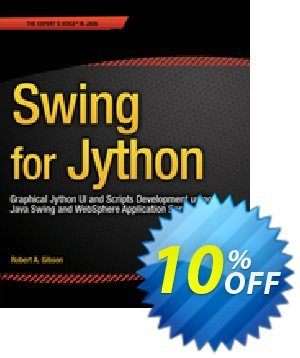 Swing for Jython (Gibson) 優惠券,折扣碼 Swing for Jython (Gibson) Deal,促銷代碼: Swing for Jython (Gibson) Exclusive Easter Sale offer for iVoicesoft