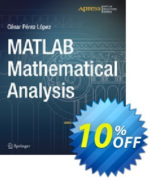 MATLAB Mathematical Analysis (Lopez) 優惠券,折扣碼 MATLAB Mathematical Analysis (Lopez) Deal,促銷代碼: MATLAB Mathematical Analysis (Lopez) Exclusive Easter Sale offer for iVoicesoft