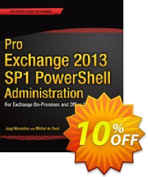 Pro Exchange 2013 SP1 PowerShell Administration (de Rooij) discount coupon Pro Exchange 2013 SP1 PowerShell Administration (de Rooij) Deal - Pro Exchange 2013 SP1 PowerShell Administration (de Rooij) Exclusive Easter Sale offer for iVoicesoft