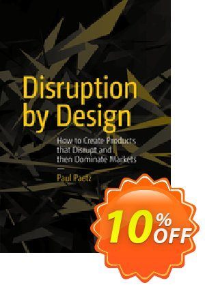 Disruption by Design (Paetz) discount coupon Disruption by Design (Paetz) Deal - Disruption by Design (Paetz) Exclusive Easter Sale offer for iVoicesoft