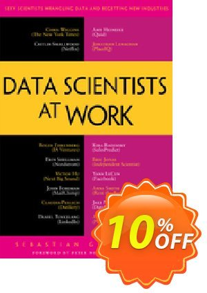 Data Scientists at Work (Gutierrez) discount coupon Data Scientists at Work (Gutierrez) Deal - Data Scientists at Work (Gutierrez) Exclusive Easter Sale offer for iVoicesoft