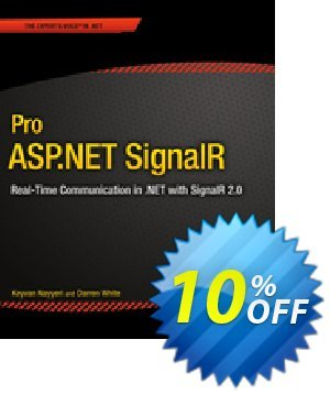 Pro ASP.NET SignalR (Nayyeri) discount coupon Pro ASP.NET SignalR (Nayyeri) Deal - Pro ASP.NET SignalR (Nayyeri) Exclusive Easter Sale offer for iVoicesoft