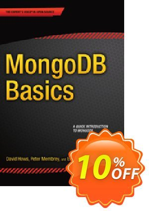 MongoDB Basics (Membrey) discount coupon MongoDB Basics (Membrey) Deal - MongoDB Basics (Membrey) Exclusive Easter Sale offer for iVoicesoft