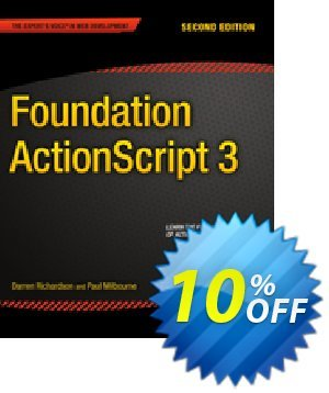 Foundation ActionScript 3 (Milbourne) discount coupon Foundation ActionScript 3 (Milbourne) Deal - Foundation ActionScript 3 (Milbourne) Exclusive Easter Sale offer for iVoicesoft